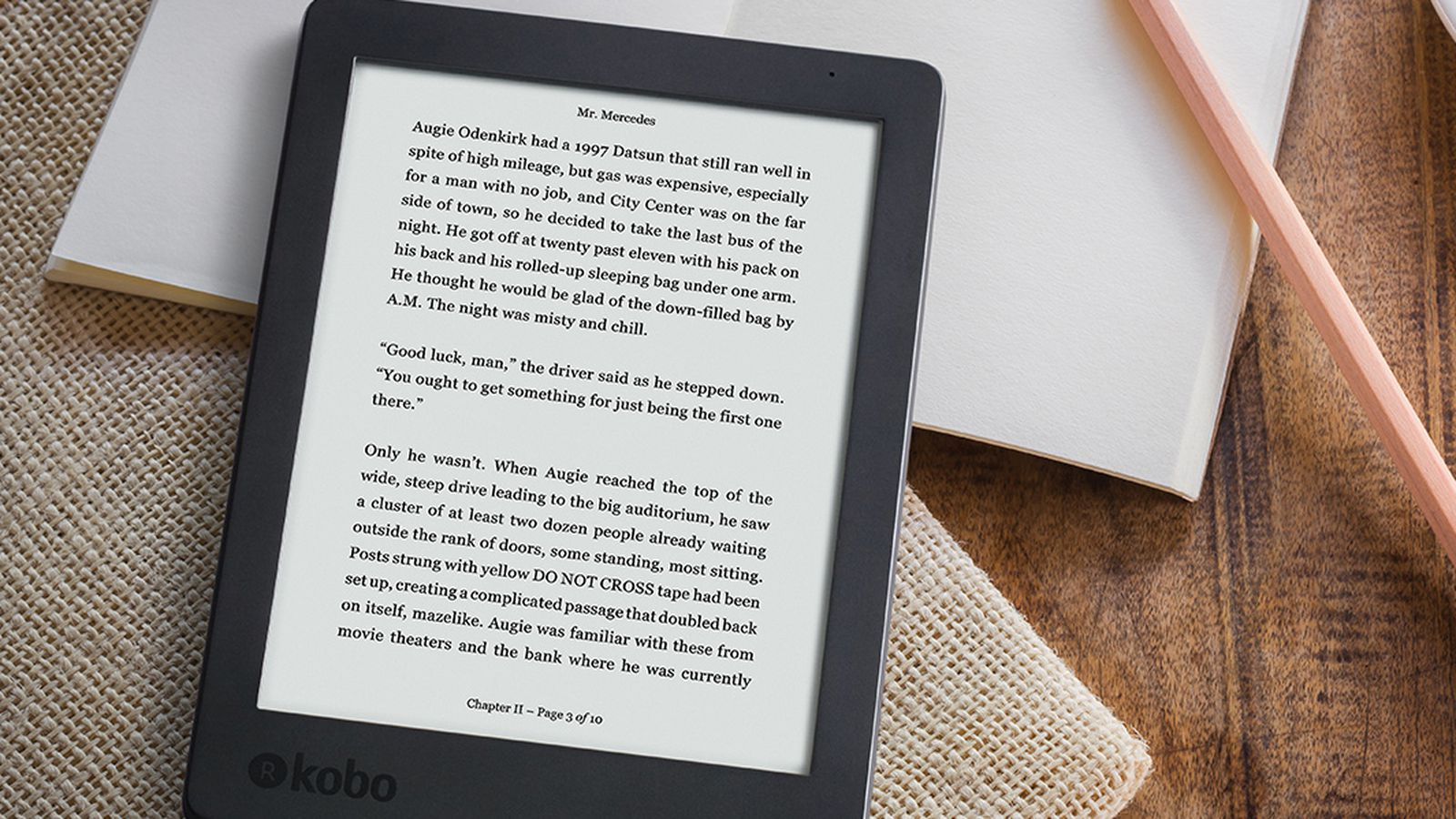 Kobo is releasing an updated version of its 6-inch Aura e