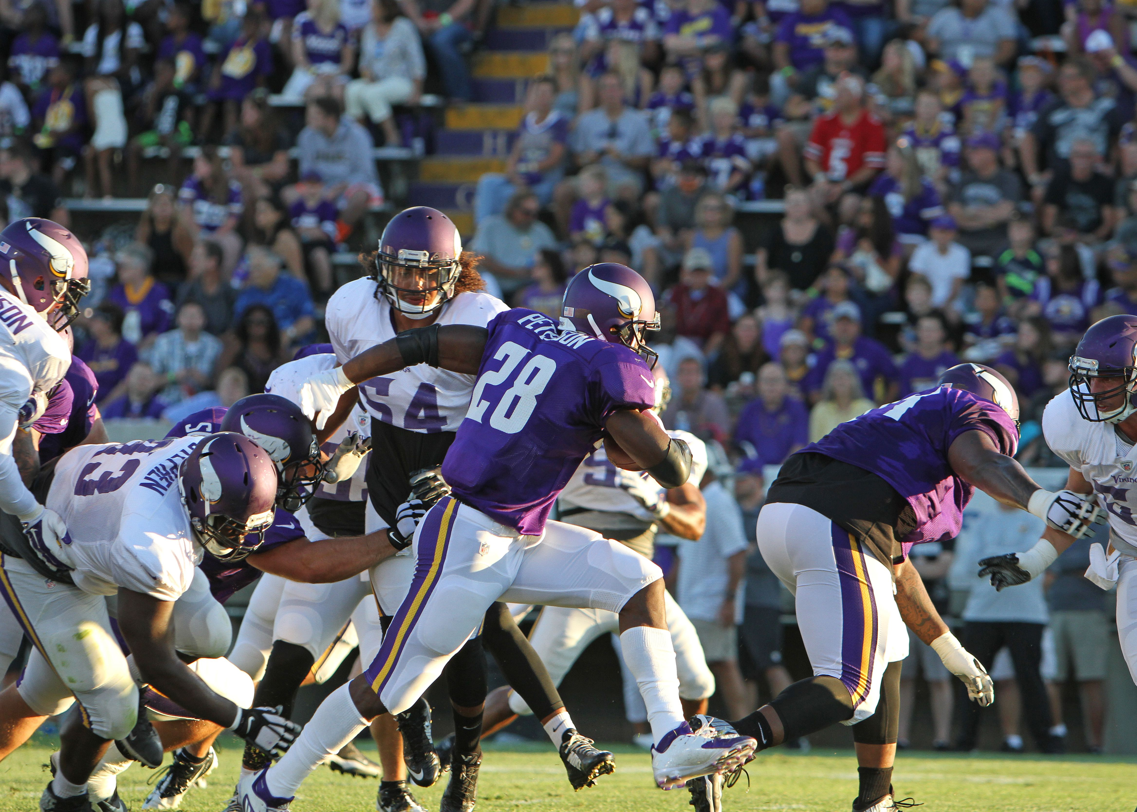 Minnesota Vikings Carter Bykowski GAME Jerseys