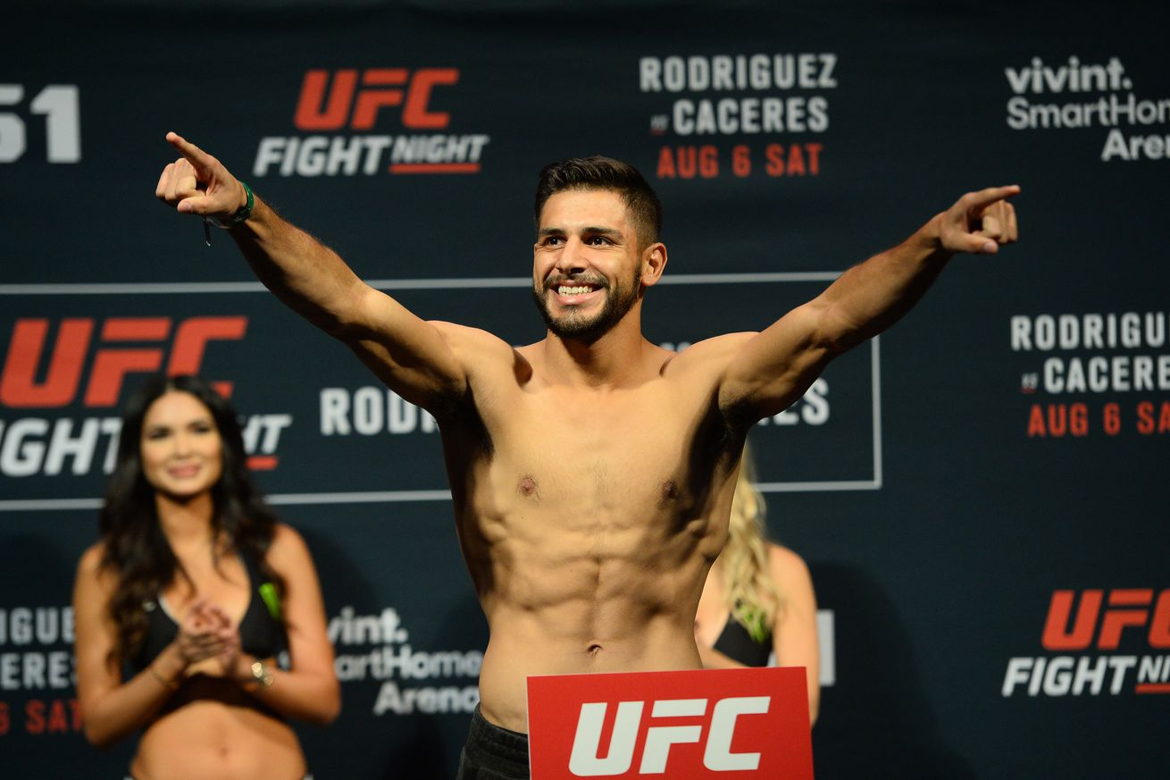 UFC Fight Night 103: Yair Rodriguez says win over BJ Penn puts him in good position for title shot