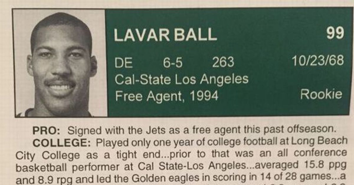 Lavar Ball Briefly Played For Jets And Panthers Long