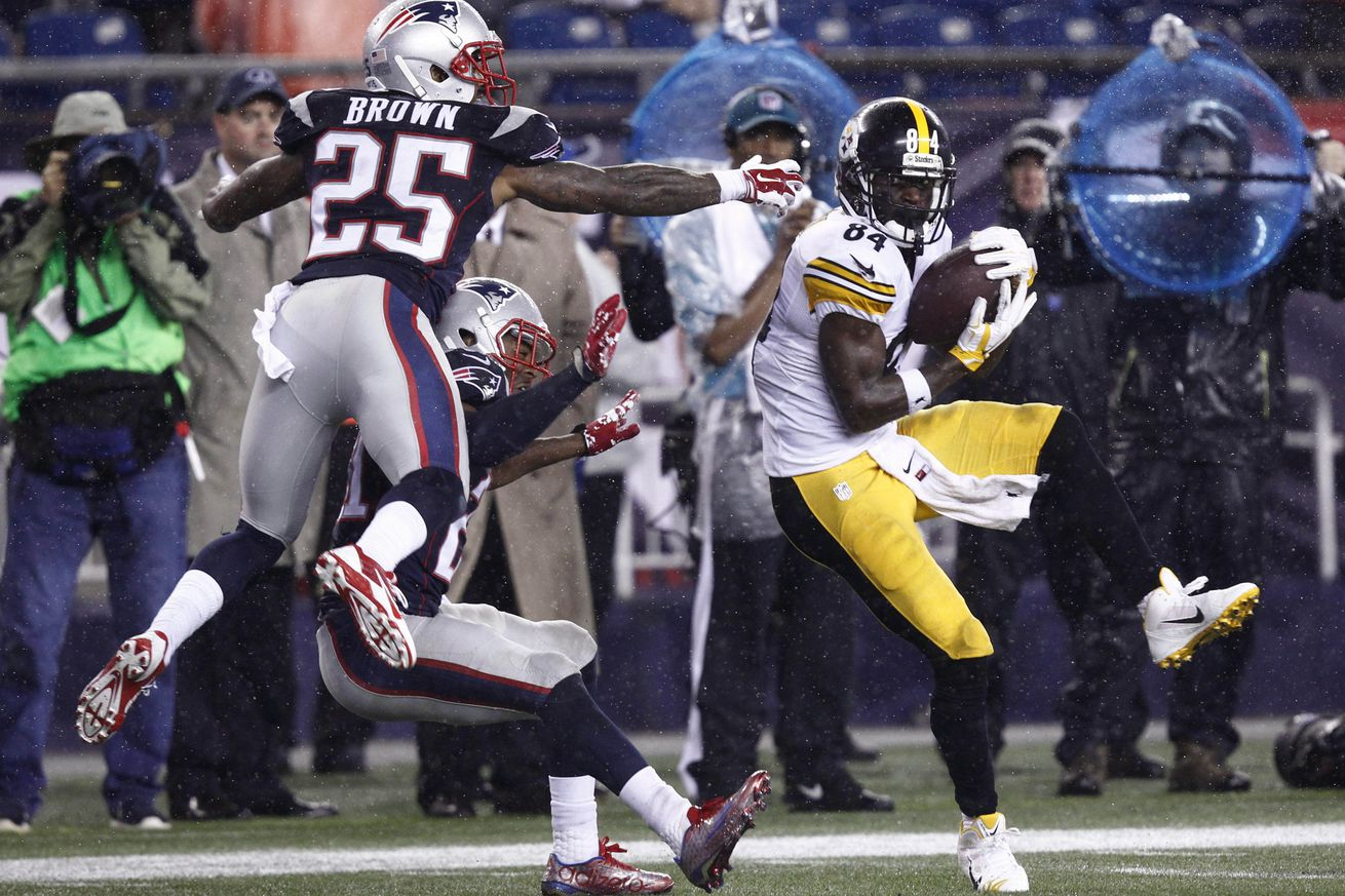 Random Thoughts From a Black and Gold Mind: Week 7 vs. the Patriots