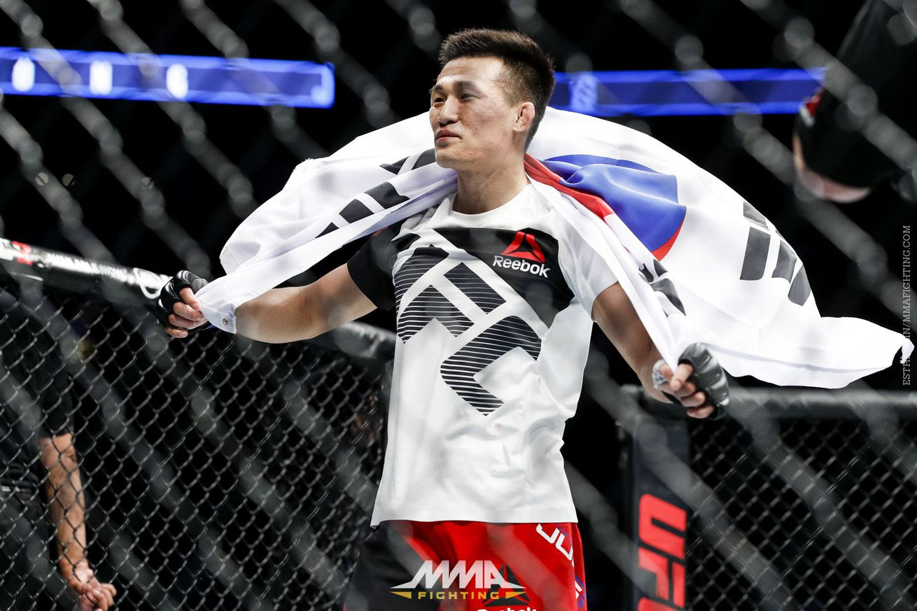community news, Dana White: Korean Zombie's win at UFC Fight Night 104 'sealed the deal' for UFC's return to Korea