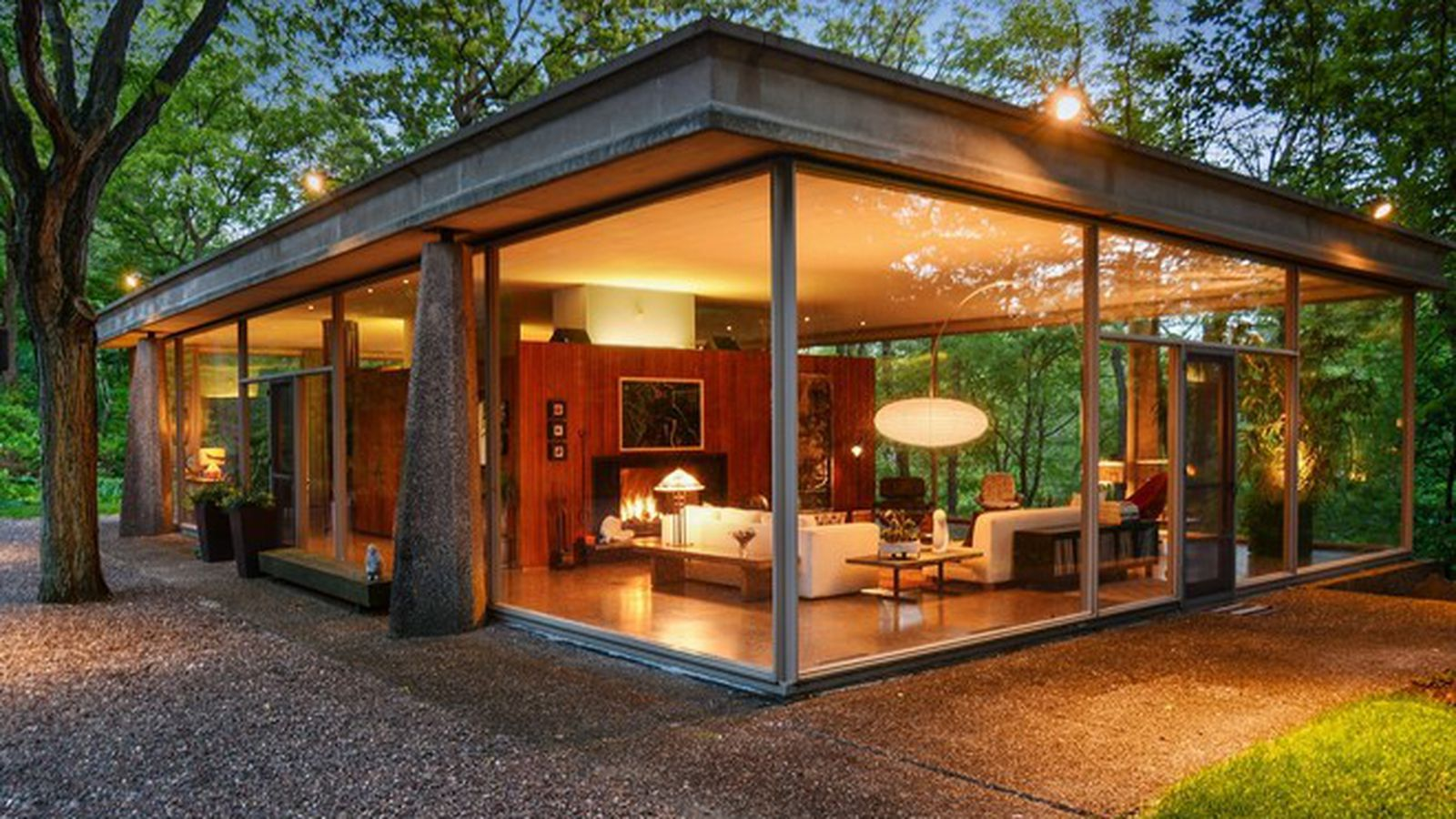 Own An Award Winning Mid Century Glass House For Just