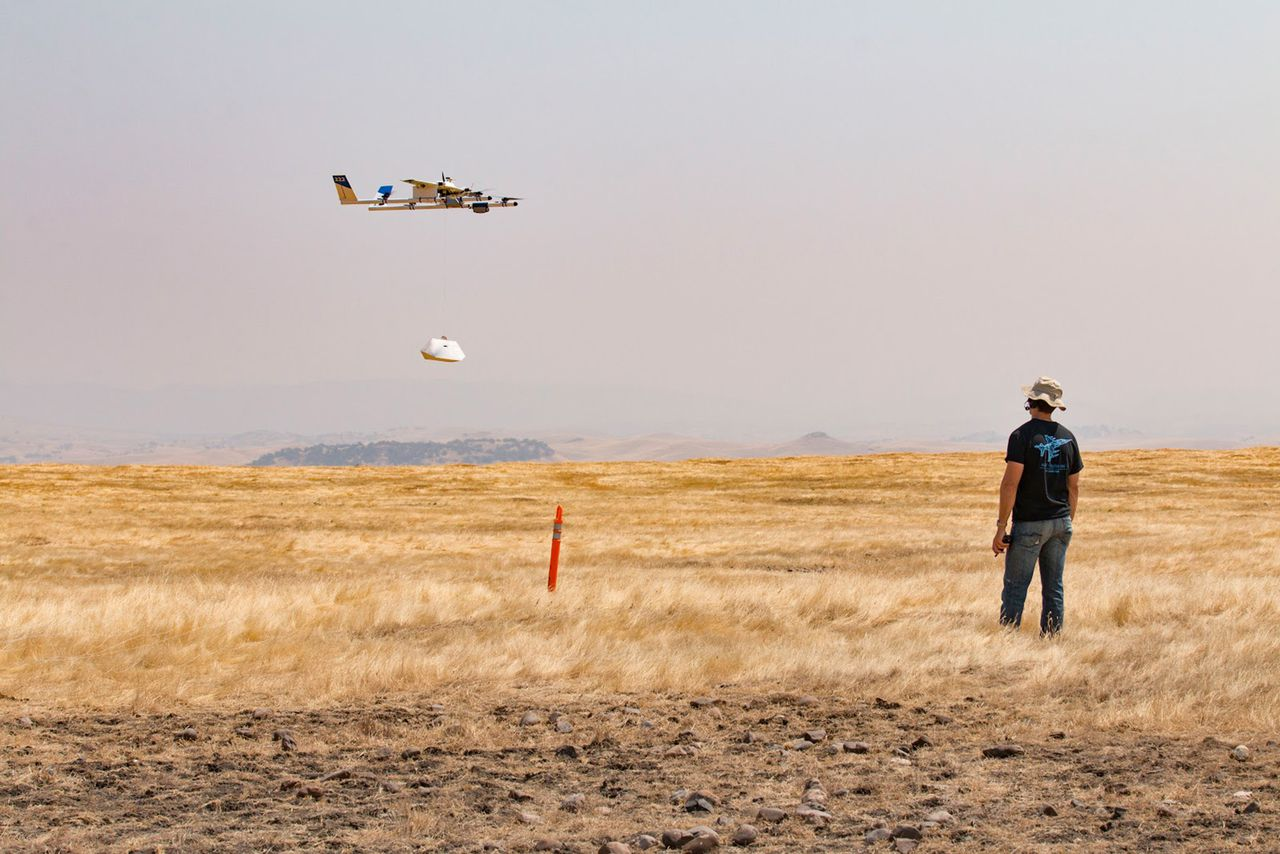 Chipotle tests drone deliveries at VT