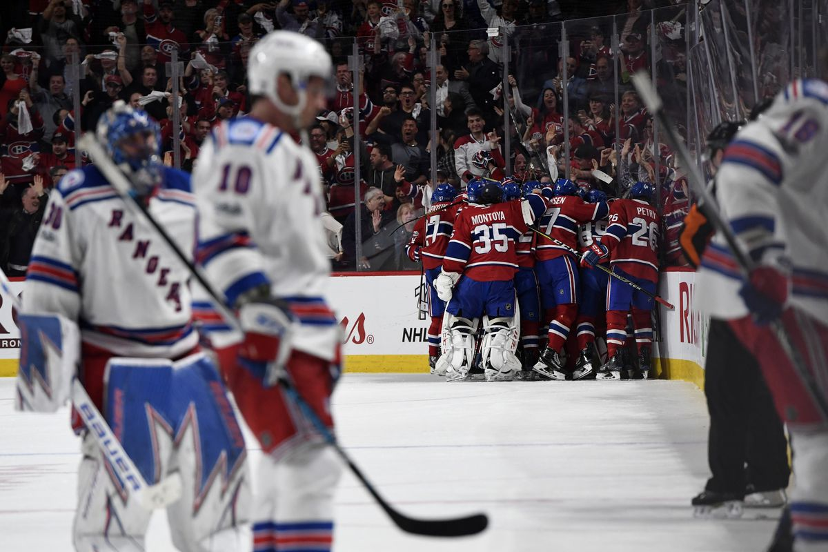 Home ice no advantage for Rangers in Game 3 vs. Canadiens