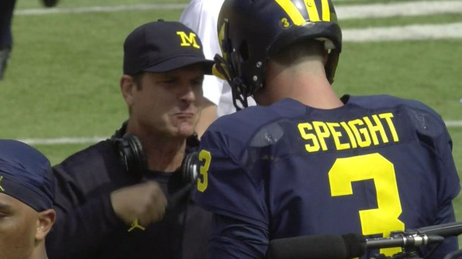 Jim Harbaugh S Pregame Routine Is Beating Up His