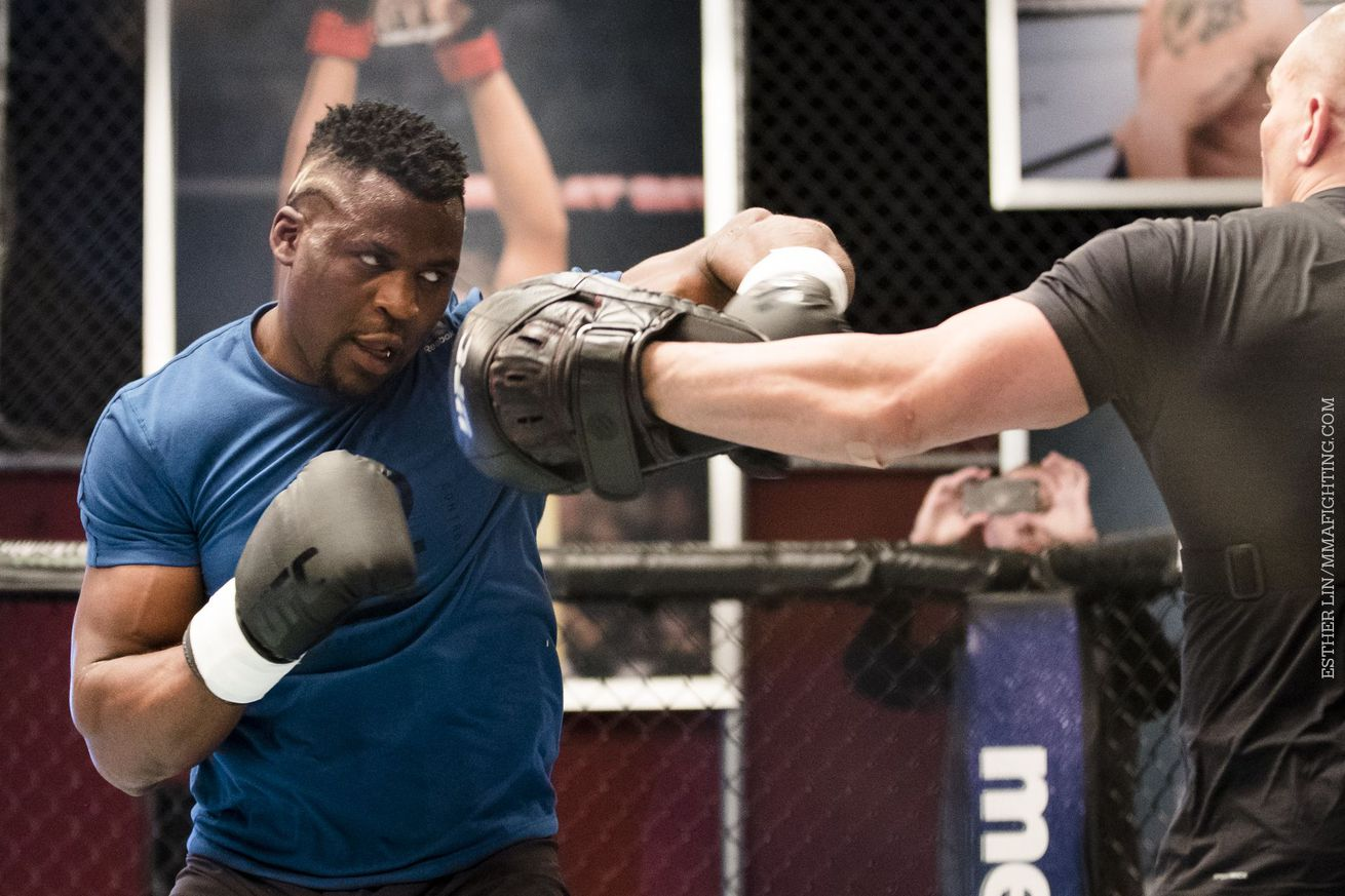 Francis Ngannou moves full time to Las Vegas to 'get ready for the next level'