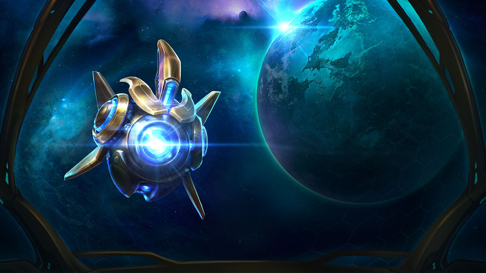 Meet Heroes of the Storm's newest character, Probius
