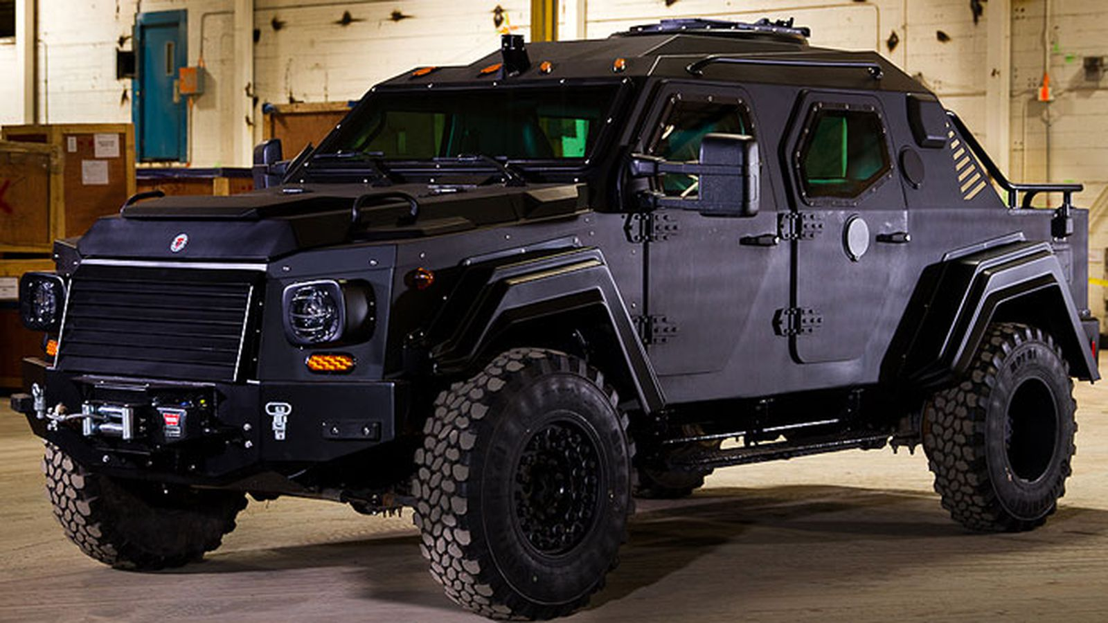 J.R. Smith is now driving an armored military vehicle ...