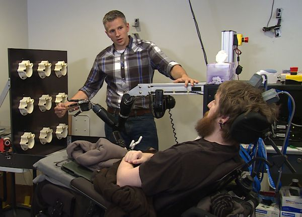 robotic arm trial