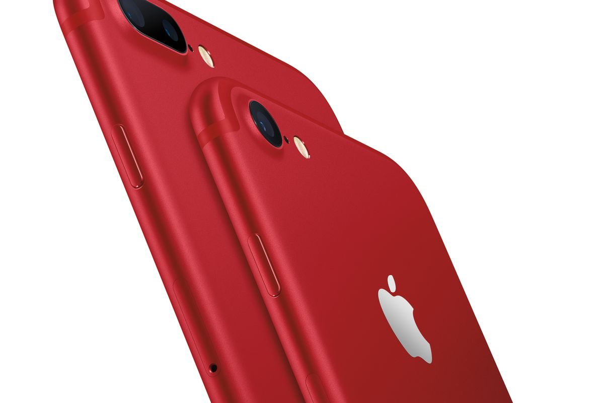 image iphone 7 plus red