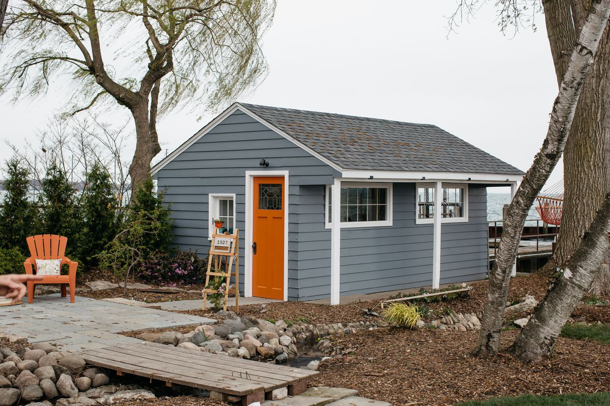 Miraculous The Designers Show House Includes A Tiny House Curbed Detroit Largest Home Design Picture Inspirations Pitcheantrous