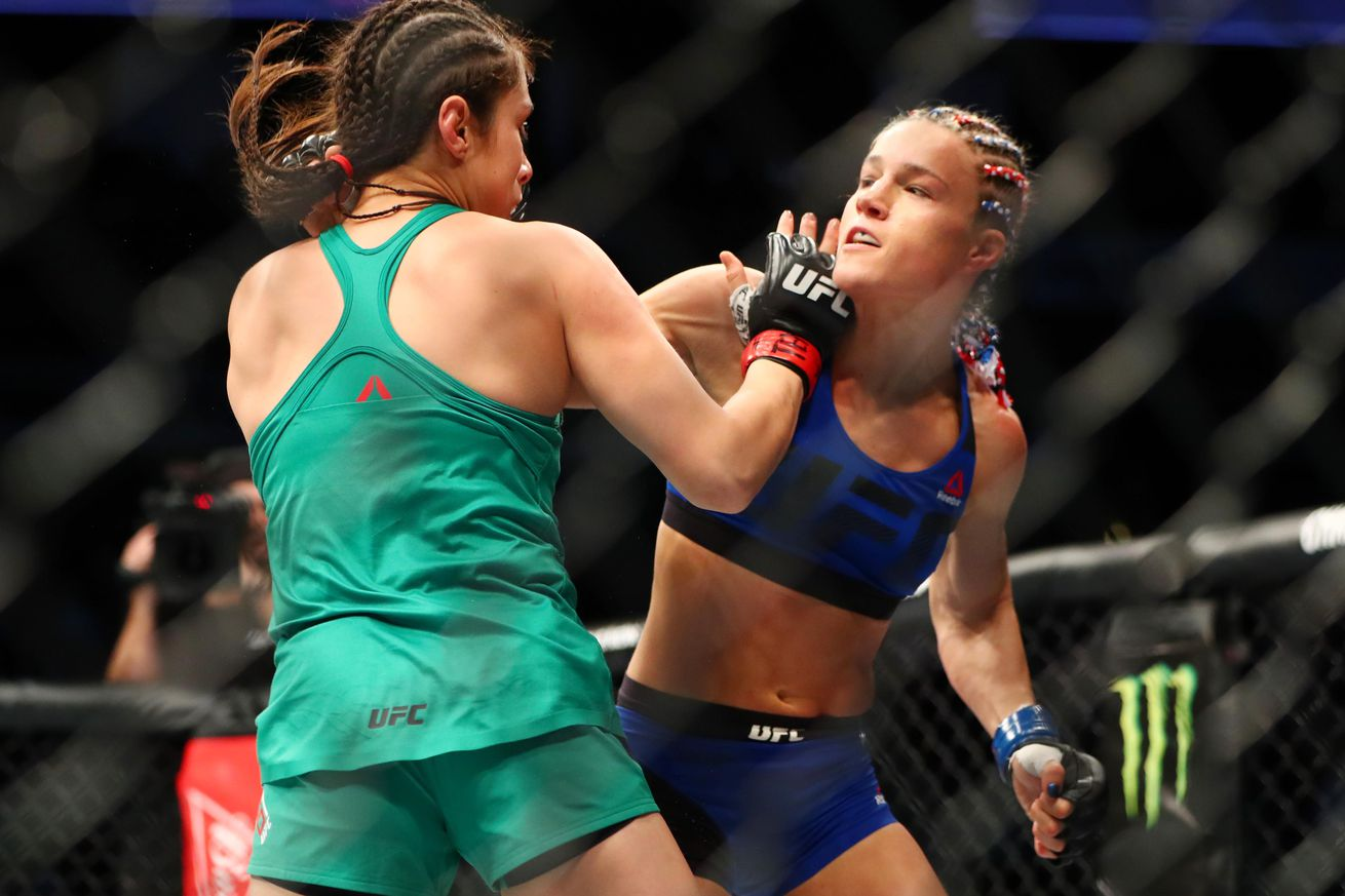 Fight Night 104 Results: Felice Herrig upsets prospect Alexa Grasso by unanimous decision