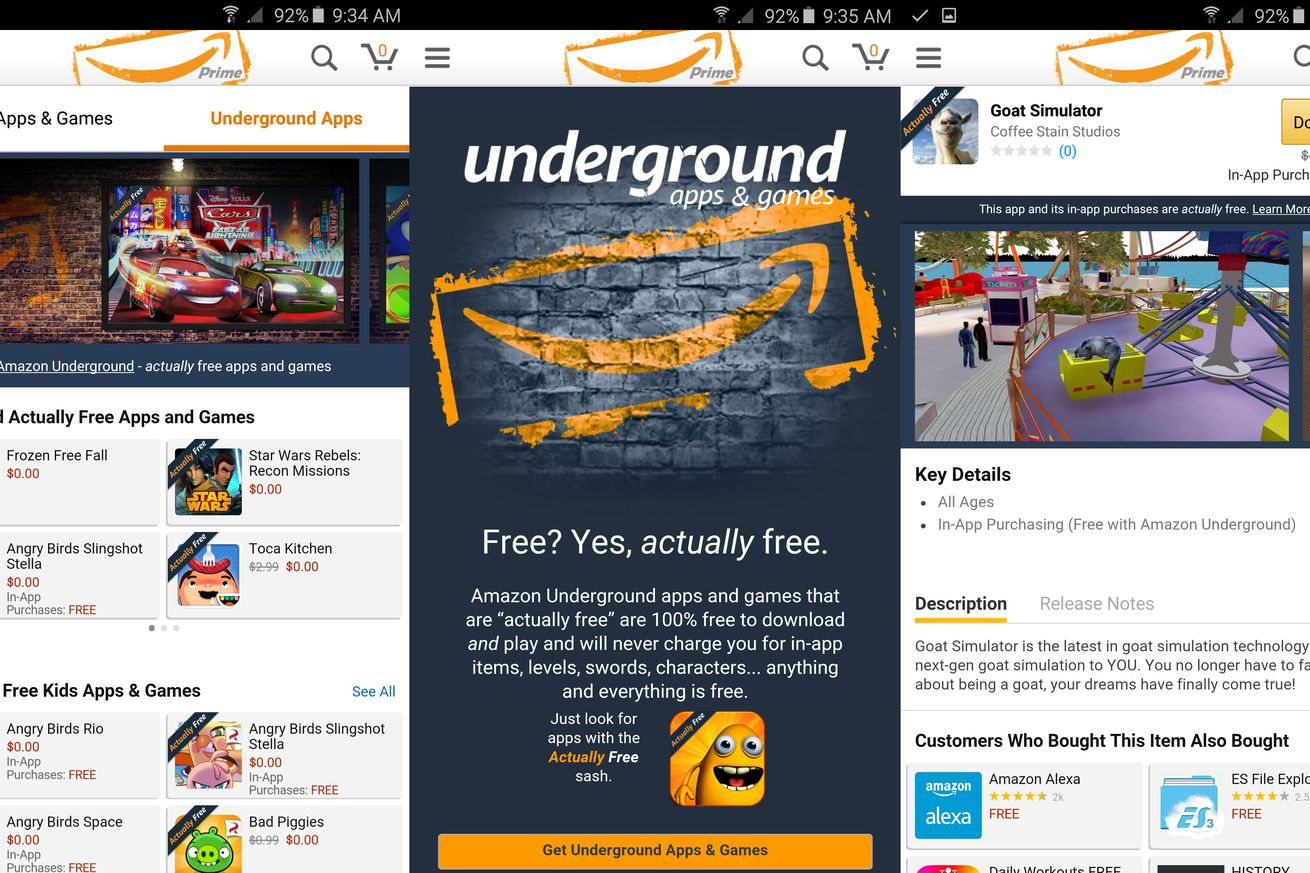 Amazon Underground Shutting Down May 31