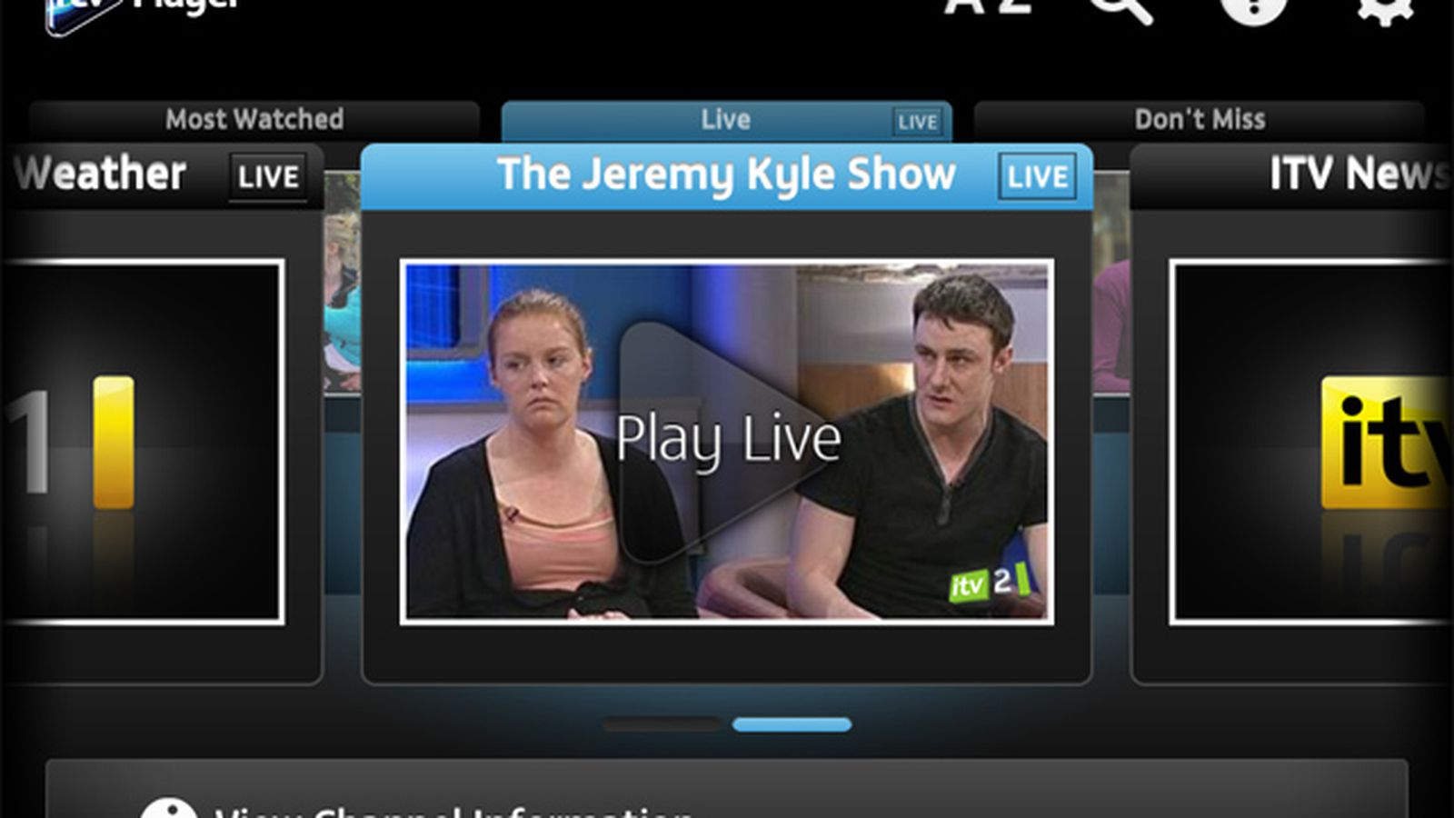 ITV adds live streaming and AirPlay Mirroring to iOS app - The Verge