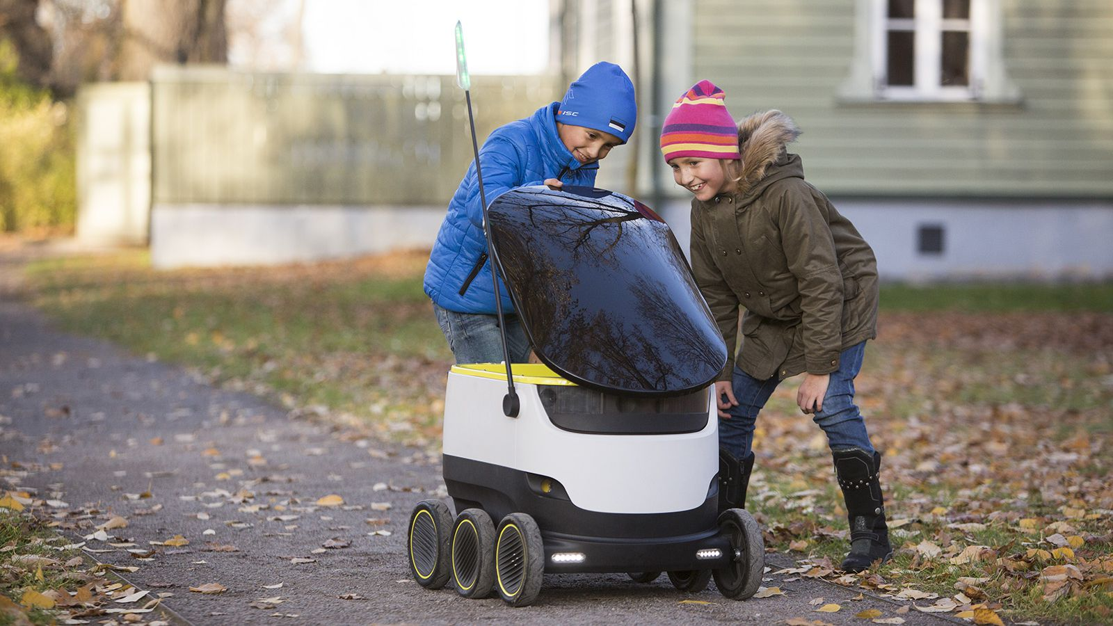 Idaho is the Second State to Allow Unmanned Robots to Deliver to your Front Door