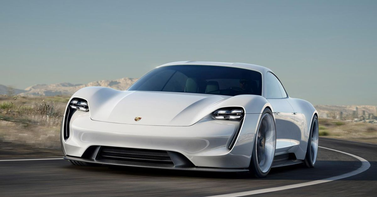 Porsches All Electric Tesla Rival Could Cost Less Than  The Verge