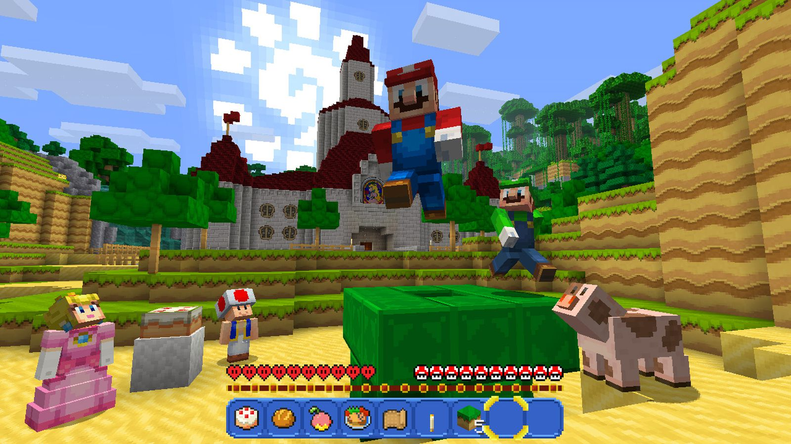 Minecraft is a perfect fit for the Nintendo Switch