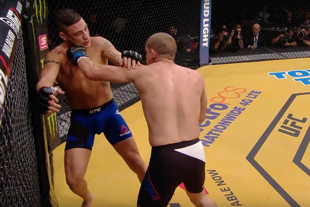 community news, Joe Lauzon vs. Diego Sanchez full fight video