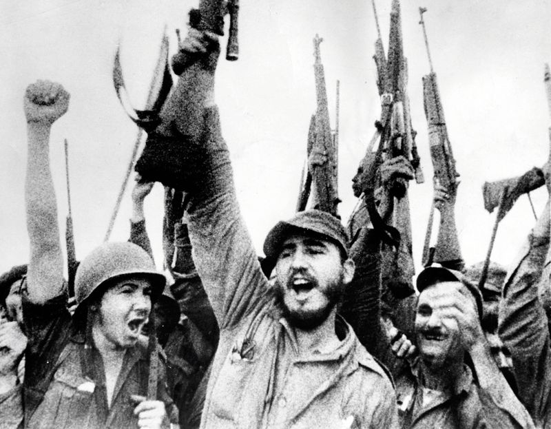 Fidel Castro, then a Marxist rebel, in 1957 (Universal History Archive/Getty)