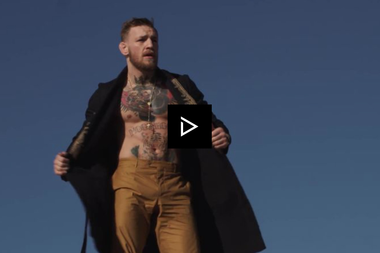 Video: Conor McGregor cries in the shower, reveals favorite romantic comedy (NSFW)
