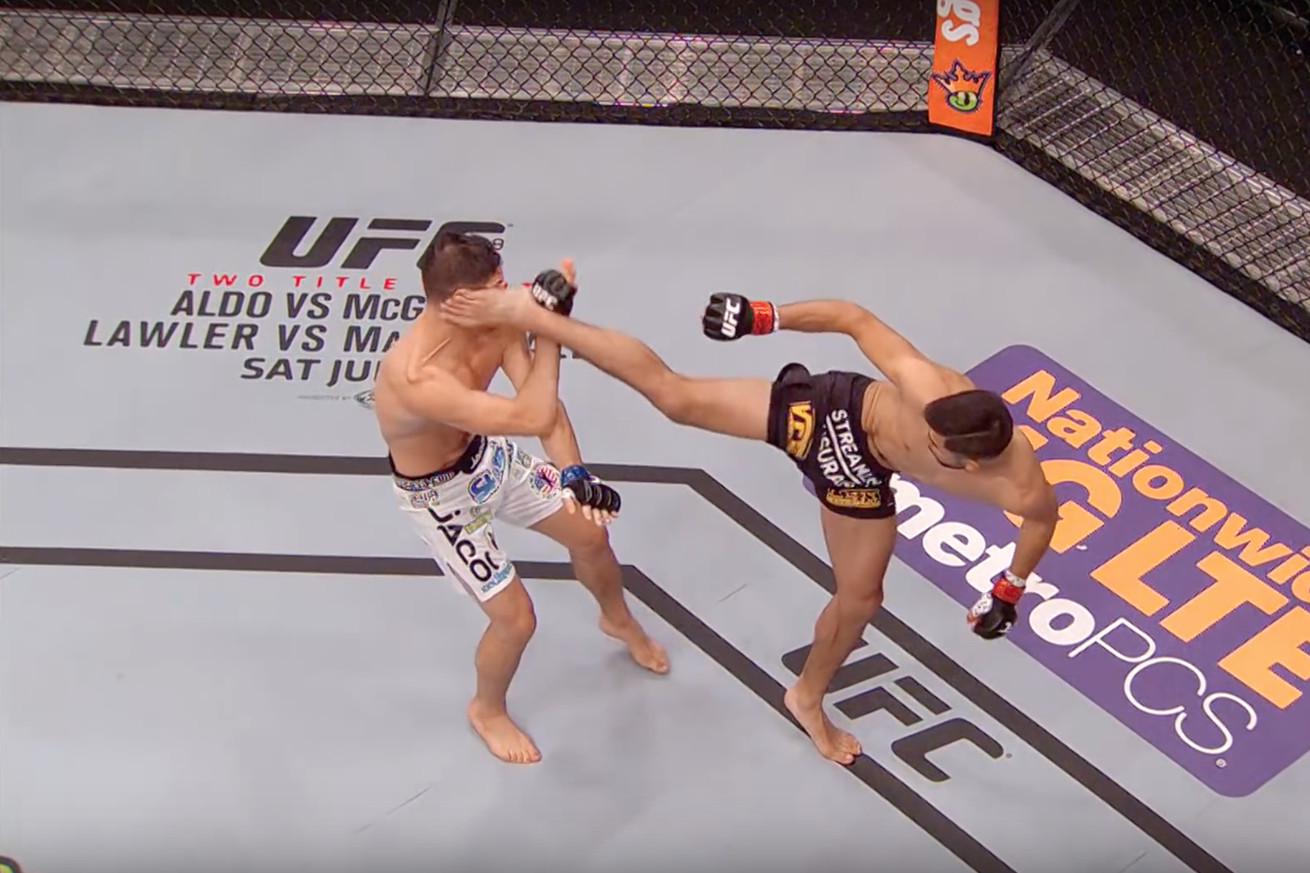 Yair Rodriguez vs. Charles Rosa full fight video