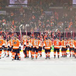 """Flyers: """"Thanks"""""""