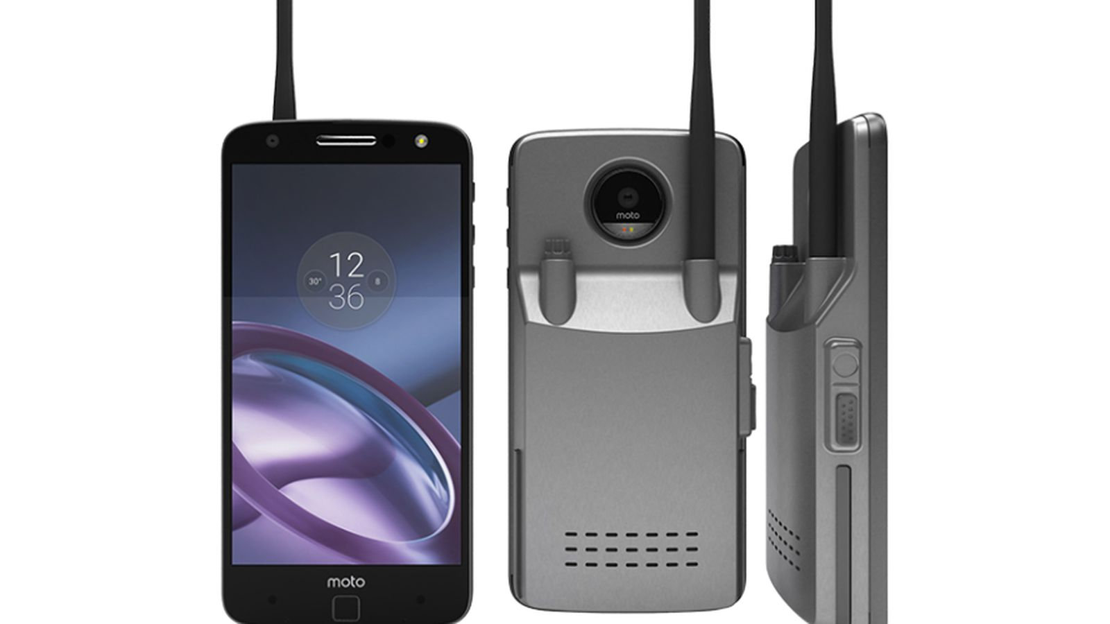 photo image This Moto Mod turns your phone into a walkie-talkie