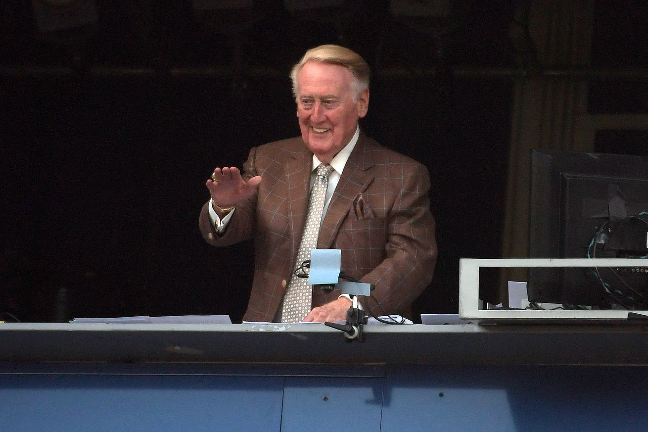 Los Angeles Dodgers announcer Vin Scully to retire Oct. 2