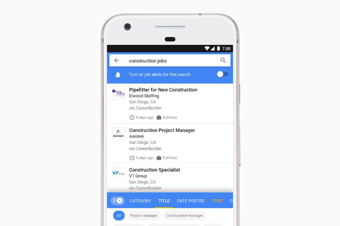 Google for Jobs aims to make job searching less of a hassle