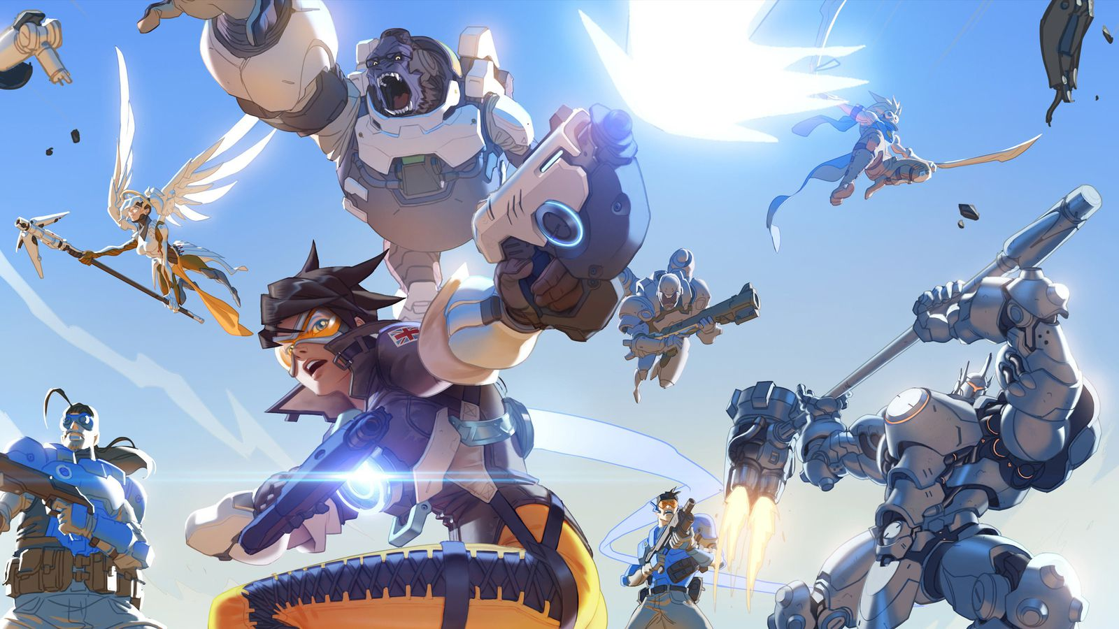 Image result for overwatch anime