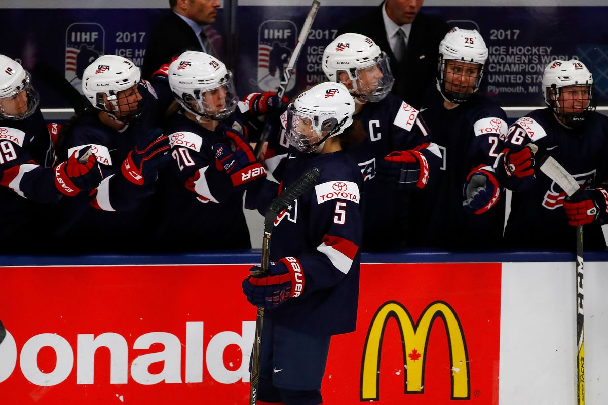 23 player selected to US Women's national hockey team