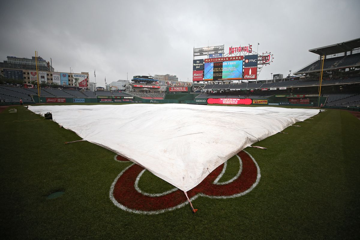 Orioles-Nationals postponed by rain; makeup game on June 8