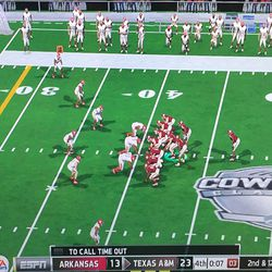 Victory formation in JerryWorld? That NEVER happens.