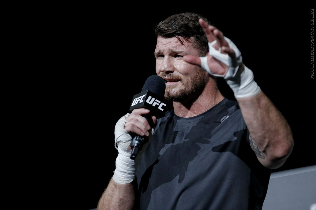 community news, Michael Bisping responds to Yoel Romero, clarifies UFC title situation