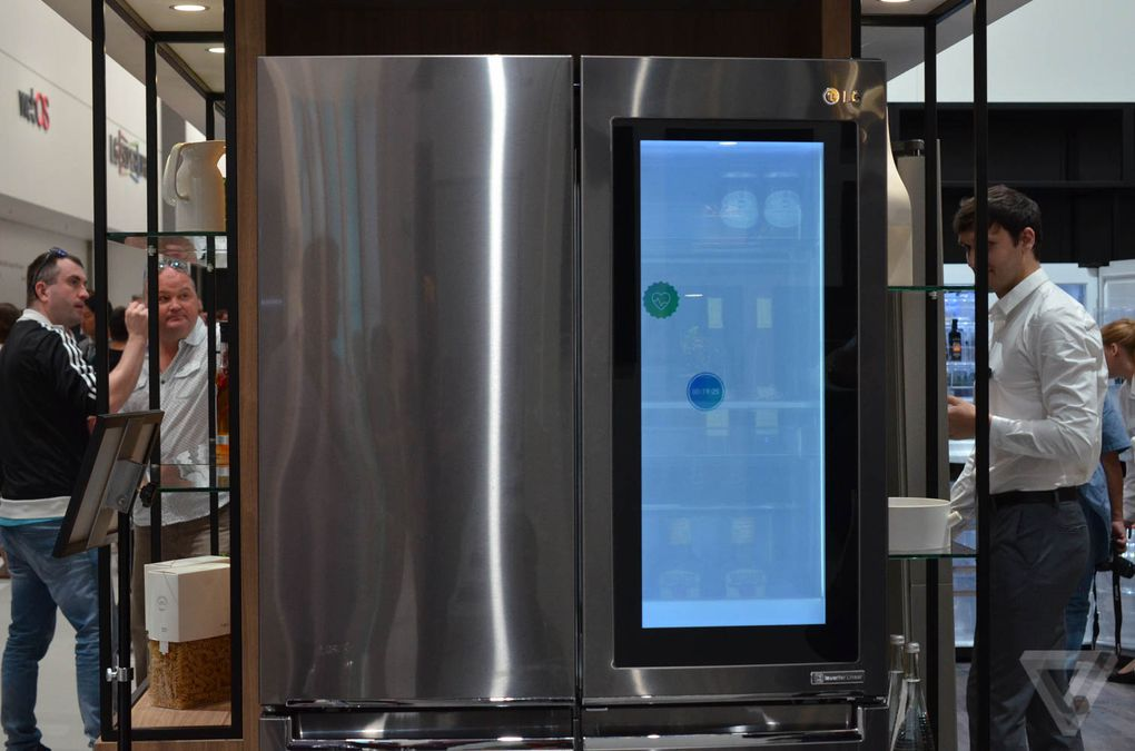 LG put Windows 10 on a fridge