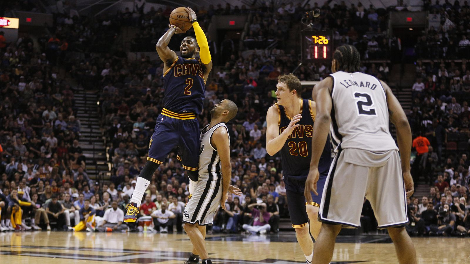 2015 NBA scores: Kyrie Irving beat the Spurs on his own and 3 other things we learned Thursday