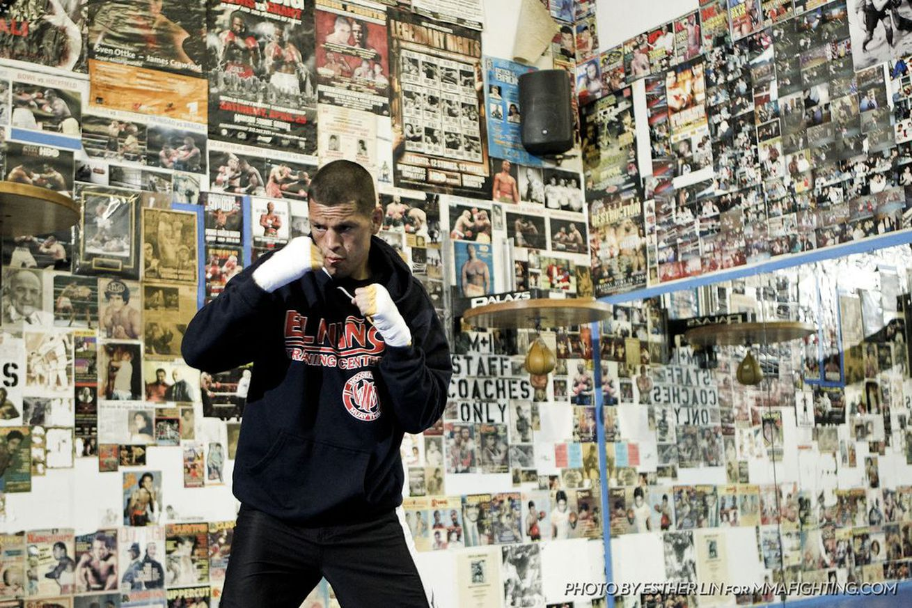 community news, Nate Diaz: I'm getting my boxing license because UFC put me on the shelf