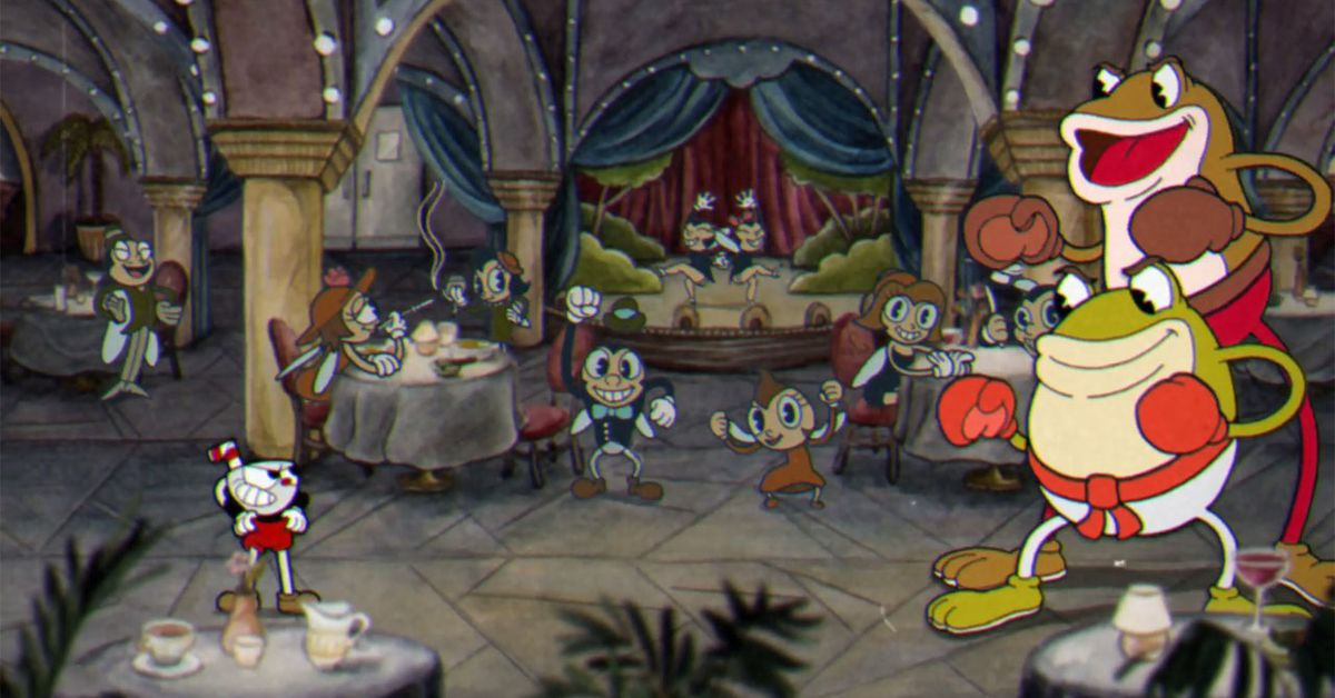 Cuphead Boss Guide Ribby And Croaks In Clip Joint
