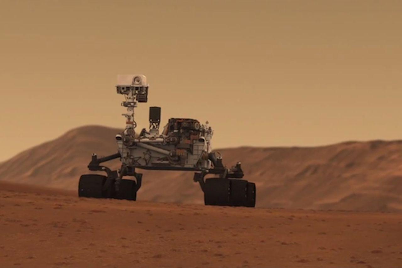 Mars Curiosity rover sings 'Happy Birthday,' dares Earth ...