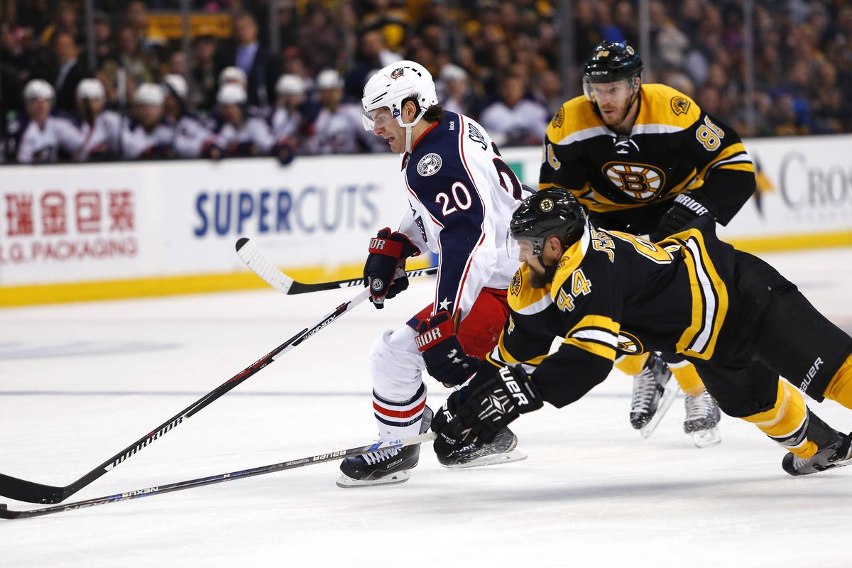 Pre-season Open Thread 2: Blue Jackets at Bruins - The Cannon