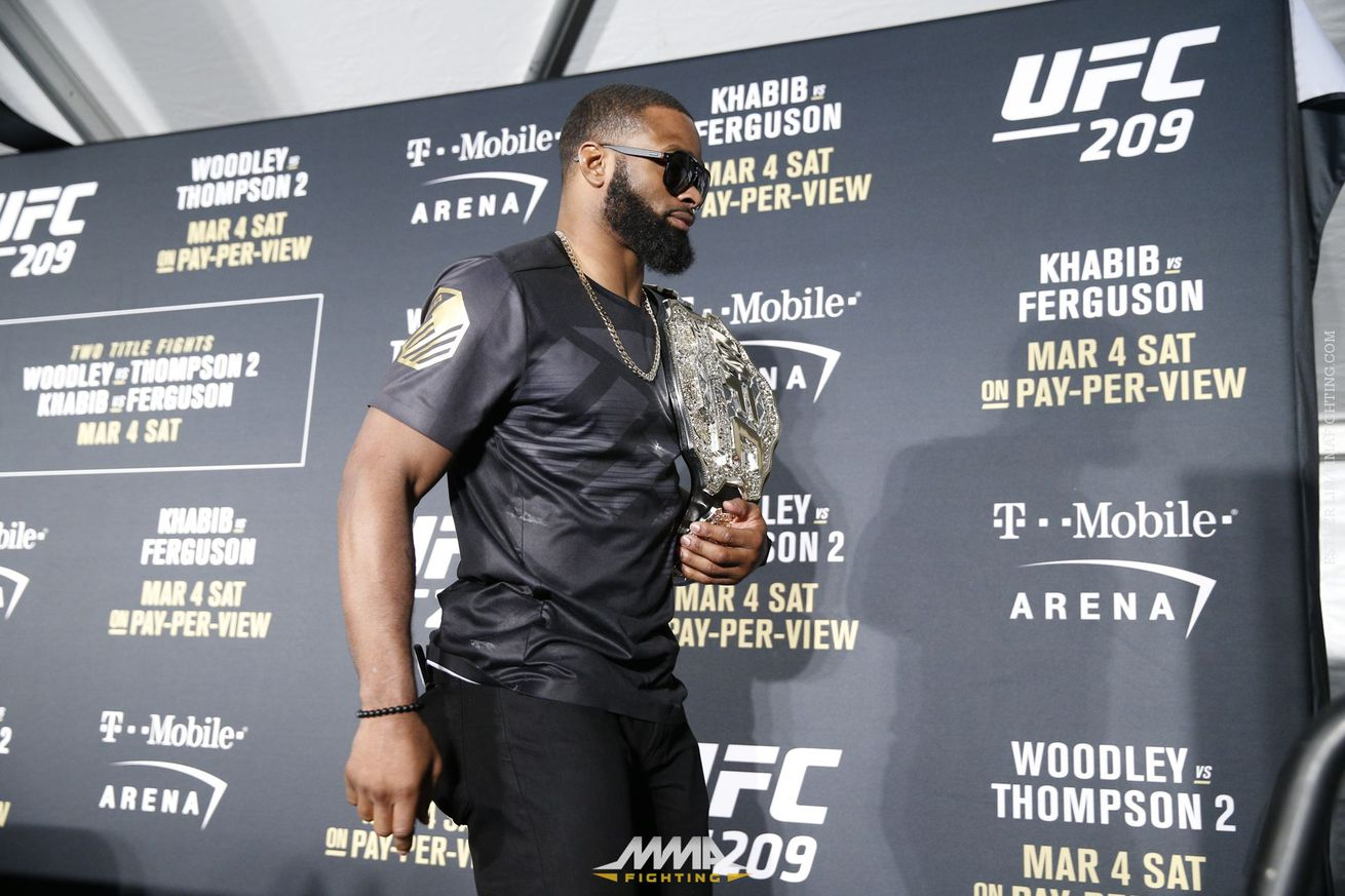Tyron Woodley: People who say I'm a boring fighter don't have 'long term memory'