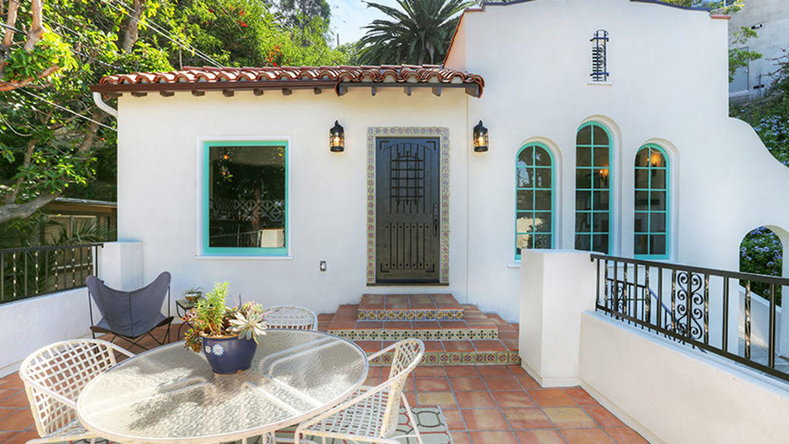200k spanish revival mess in franklin hills remade into for Custom homes under 200k