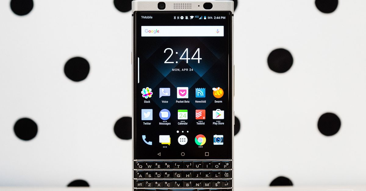 Blackberry keyone review part productivity part nostalgia the verge fandeluxe