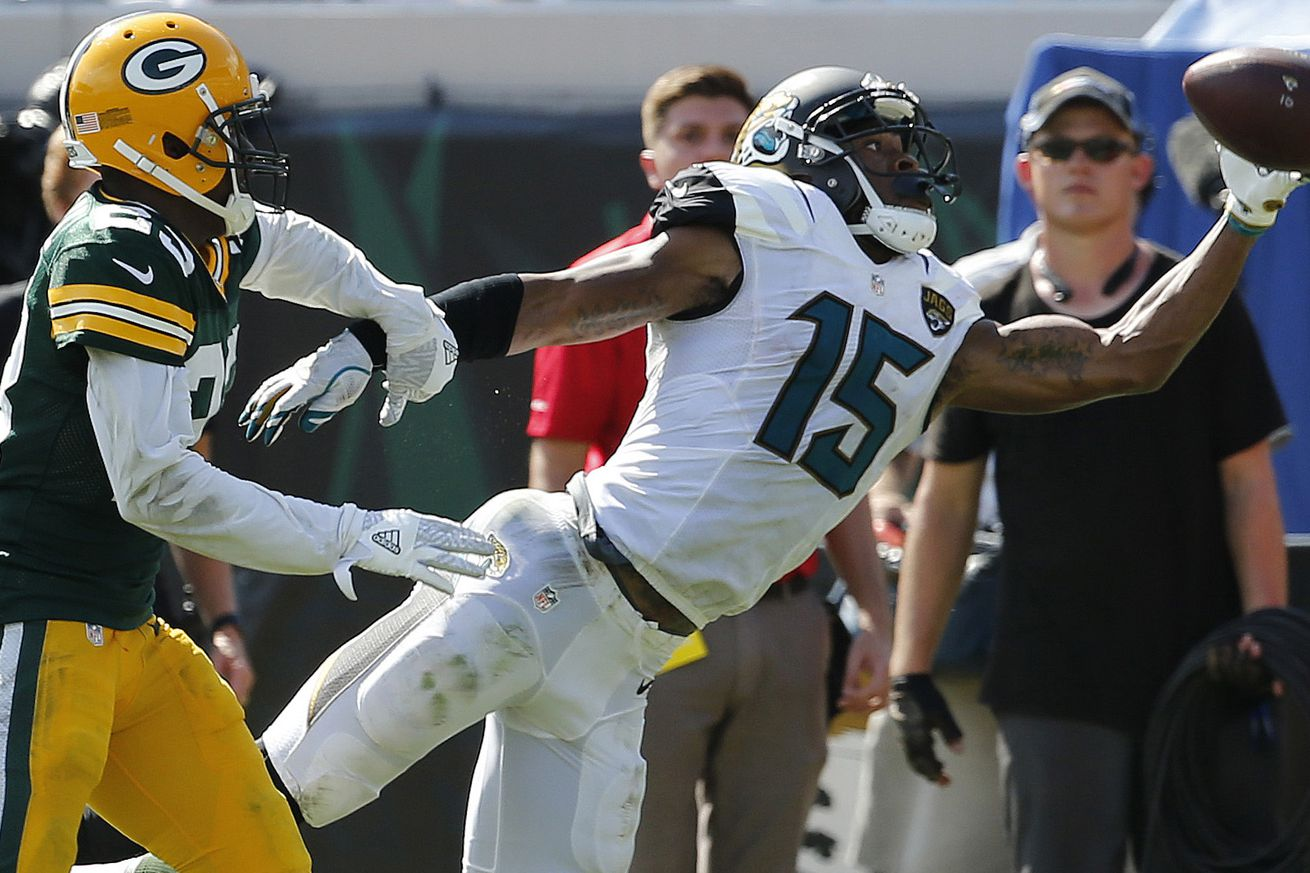 3 plays that decided Jaguars loss to Packers