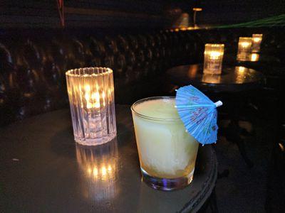 Flip Flop slushee cocktail