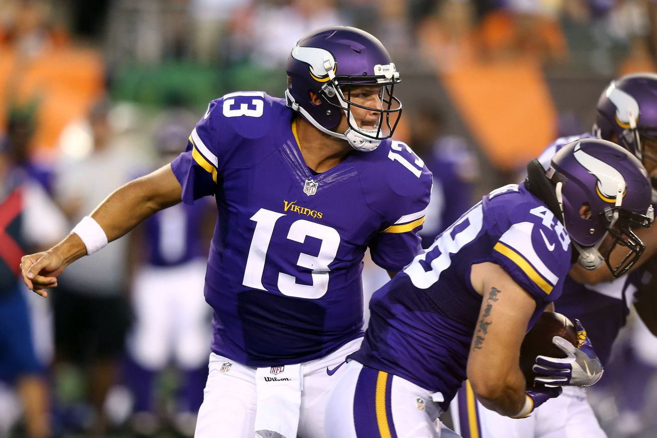 NFL Jerseys NFL - Report: Shaun Hill To Start Against Tennessee - Daily Norseman