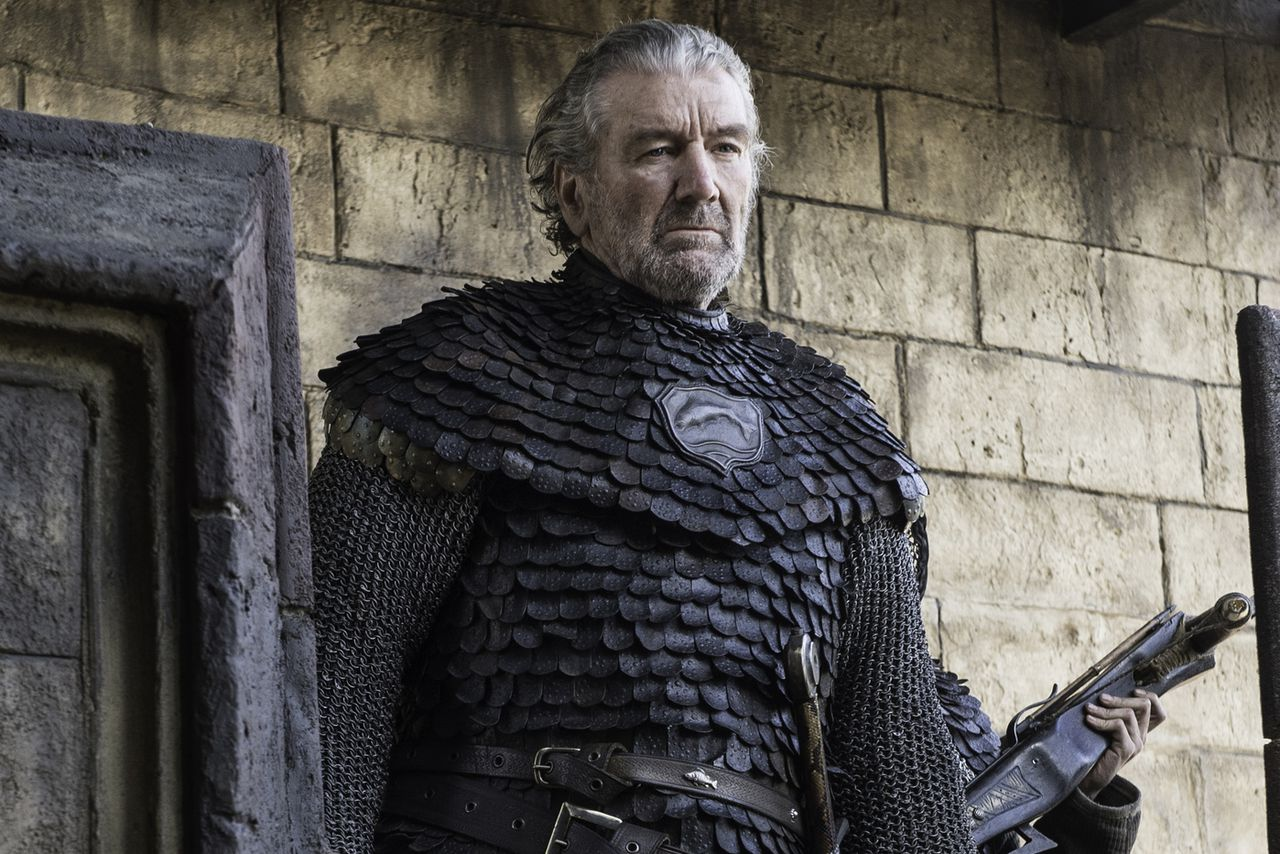 The Blackfish is kind of a badass, and he's the only guy in Westeros who's alive because he had to pee.