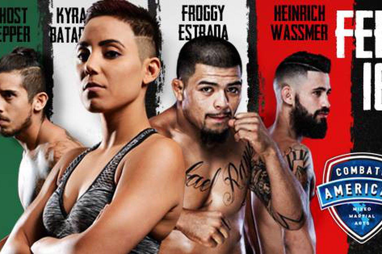 Combate Americas fight card, line up for 'Combate 11' on Feb. 16 in Burbank