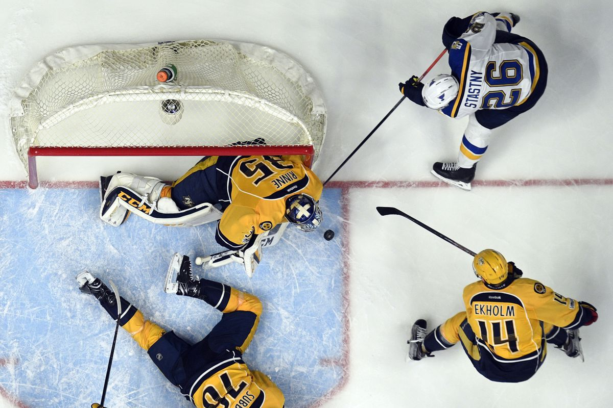 Nashville Predators vs. St. Louis Blues - 5/7/17 NHL Pick, Odds, and Prediction
